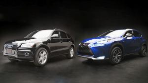 豪华SUV之战 雷克萨斯NX对比奥迪Q5