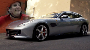 基米·莱科宁代言法拉利GTC4 Lusso T