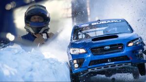 2018款斯巴鲁WRX STI 勇战奥运雪橇轨道