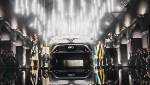 小型SUV丰田C-HR 整体造型个性时尚