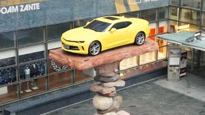 雪佛兰第六代科迈罗 展示平衡艺术