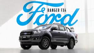 福特Ranger FX4限量版 基于XLT版本打造
