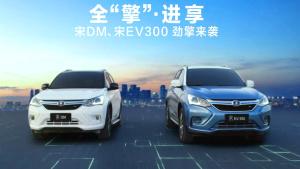 比亚迪宋DM/宋EV300上市 开启全擎格局