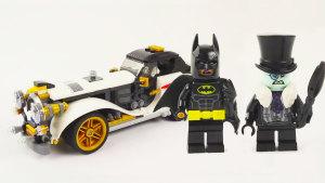 积木神速组装 蝙蝠侠座驾经典老爷车