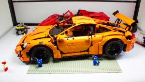 超牛 积木人偶速拼保时捷911 GT3 RS