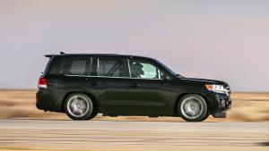 2000马力最速SUV 丰田改装陆巡赛道狂飙