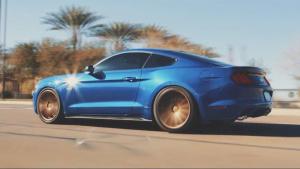 福特野马GT 换装成高端沃森轮毂