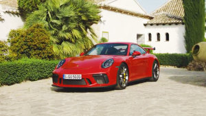 新款保时捷911 GT3 空气动力学性能提升