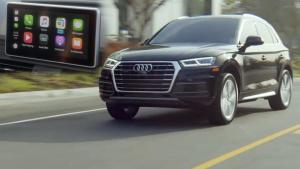 2018款奥迪Q5 搭载苹果CarPlay系统