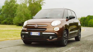菲亚特新款500L家族 三款车型可供选择