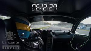 车内视角 迈凯伦P1 LM刷新纽北最快圈速