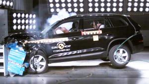 斯柯达柯迪亚克 E-NCAP碰撞测试获五星
