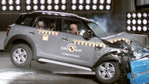 MINI COUNTRYMAN E-NCAP碰撞测试获五星