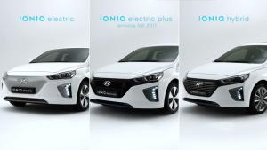 全新现代IONIQ 多版本车型亮点详解