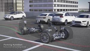 全新奥迪A8黑科技 四轮转向系统解析