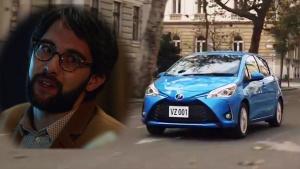 丰田Vitz爆笑创意广告 超打脸客户