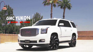 GMC新款Yukon Denali轮毂改装 锋利霸气