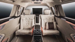 2018款奔驰迈巴赫S600 内饰外观展示