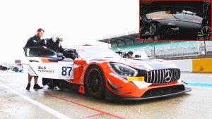 主视角感受奔驰AMG GT3 驰骋勒芒赛道