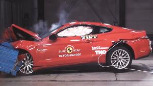 E-NCAP碰撞测试 福特Mustang获三星