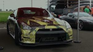 日产GT-R R35 0-350km赛道加速秀声浪