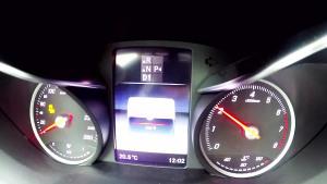 奔驰C200 1.8T 0-100km加速测试