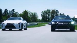 完美操控 雷克萨斯LC 500车主赛道体验