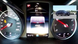 奔驰GLC300 coupe中级SUV 加速测试