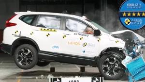 A-NCAP碰撞测试 2017款本田CR-V获五星