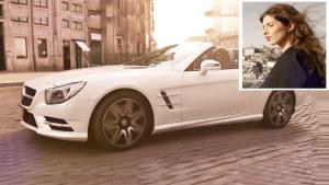 全新梅赛德斯-奔驰SL 香车绝配美女