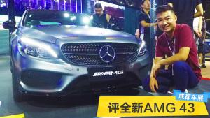 2017成都车展 旭子评全新奔驰AMG 43