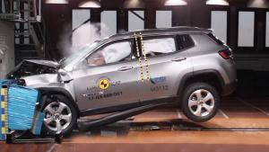 E-NCAP碰撞测试 Jeep指南者获五星安全