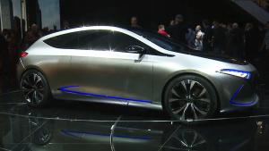 2017法兰克福车展 奔驰EQ A概念车亮相