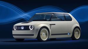 本田Urban EV概念车 采用纯电动驱动