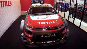 2017法兰克福车展 雪铁龙C3 WRC亮相