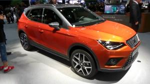 2017法兰克福车展 西亚特Arona小型SUV