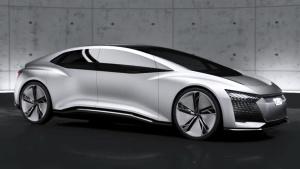 奥迪Aicon概念车 采用全尺寸对开门设计