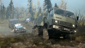 《旋转轮胎:泥泞奔驰》 越野驾驶游戏