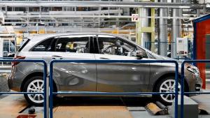 奔驰制造过程实拍 探访拉斯塔特工厂