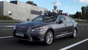 丰田自动驾驶技术 真实路况展示