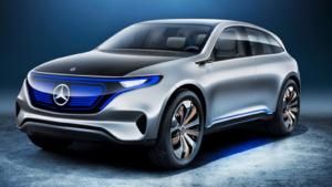 奔驰全自动驾驶电动汽车EQ,新车全新路试