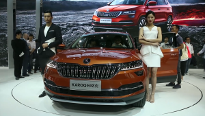 拒绝平庸  斯柯达全新紧凑型SUV柯珞克广州车展中国首