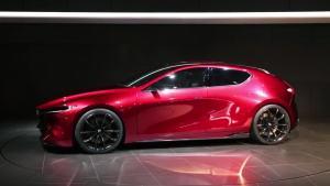 马自达Kai概念车 经典昂克赛拉掀背设计