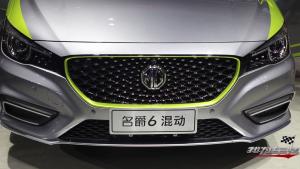 让心跳加速的名爵6插电混动首发亮相广州车展
