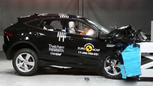 E-NCAP碰撞测试 捷豹E-PACE获五星