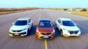 国产车VS合资车,吉利帝豪GS、本田XRV、缤智性能大比
