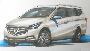 【WJL手绘】画说中国车—2017款宝骏730