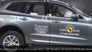 经测试-沃尔沃XC60-是安全性最高的车