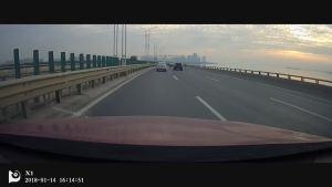 博越过太湖苏州湾大桥-好美的风景