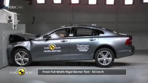 安全可靠!沃尔沃S90碰撞测试展示!